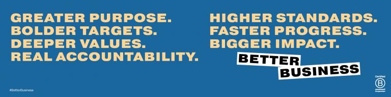 B Corp Better Business