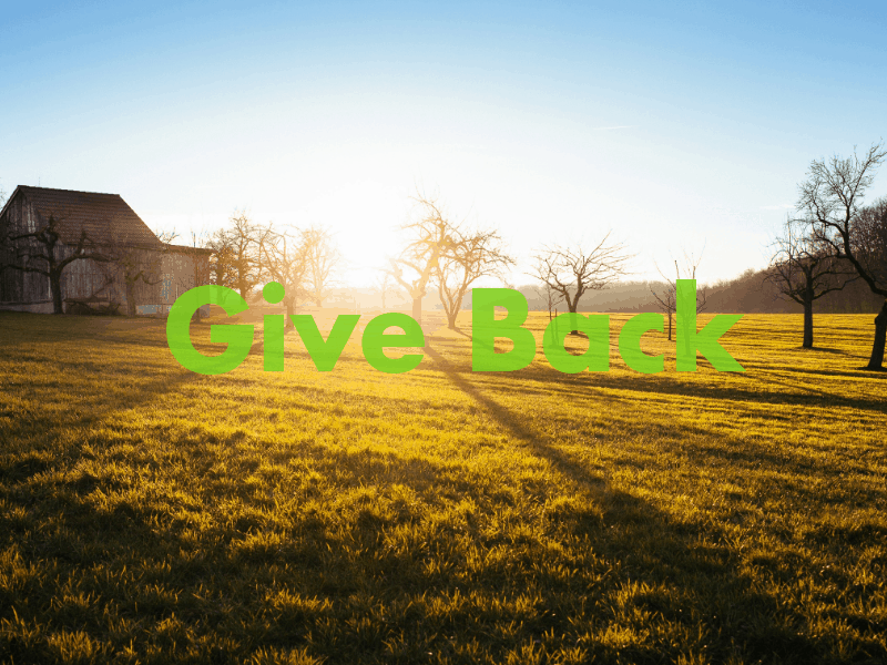 give-back