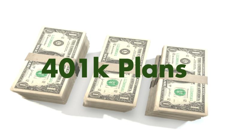 401k plans sustainability