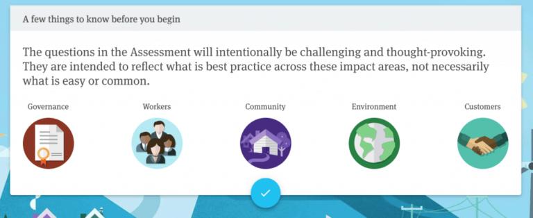 b corp impact assessment