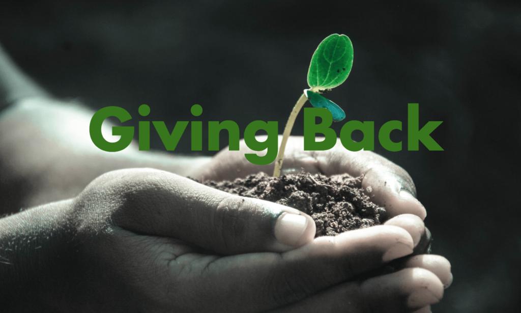 Giving Back Sustainability
