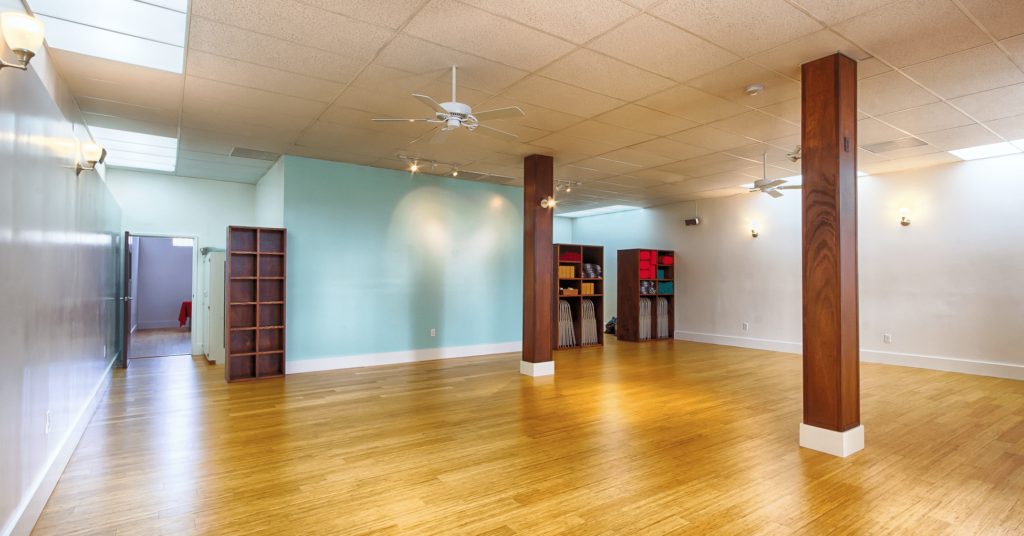 Anasa Yoga after implementing sustainability renovations.