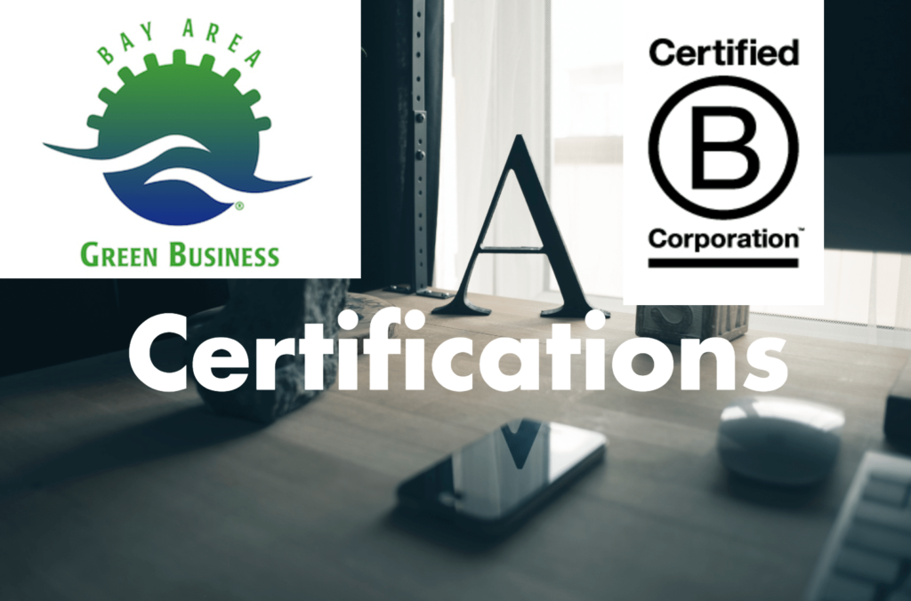 Sustainability Certifications