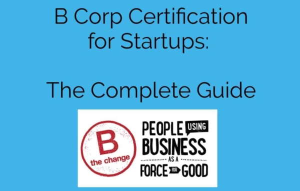b corp certification for startups