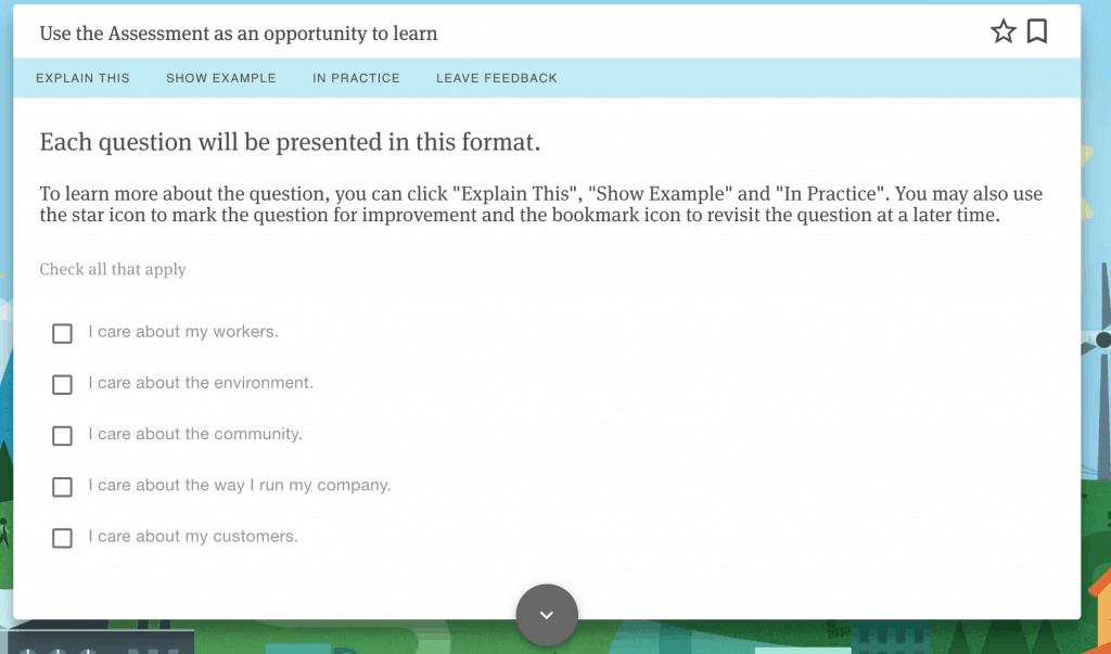 b lab questionnaire