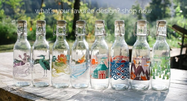 Improving Health and Giving Back with Glass Water Bottles