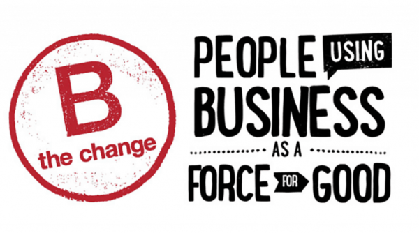 B the Change, people using business as a force for good graphic