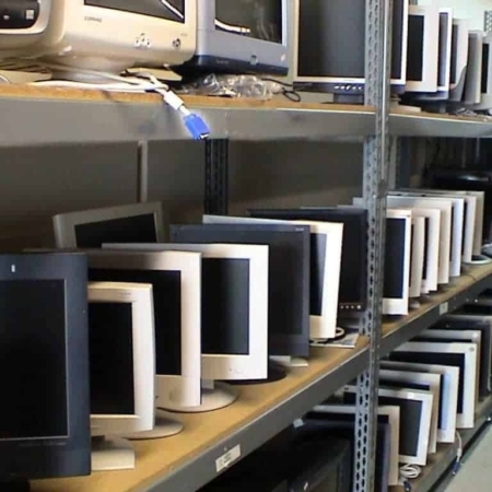 ewaste computer monitors